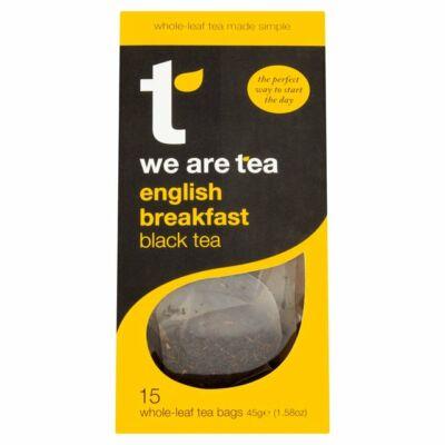 We Are Tea English Breakfast Tea 15 db selyemfilter