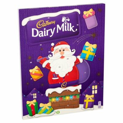 Cadbury Dairy Milk Adventi naptár 90g