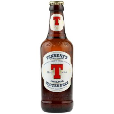 Tennent's Gluten Free 1885 Lager (5%, 330ml)
