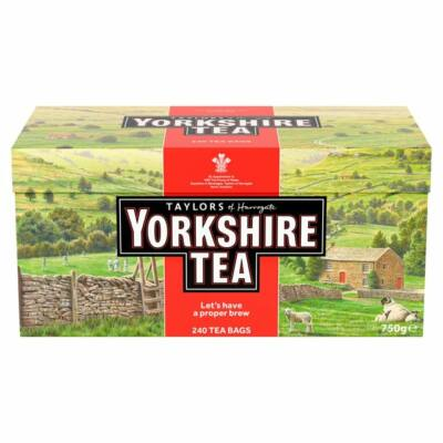 Yorkshire tradicionális fekete tea 240 filter
