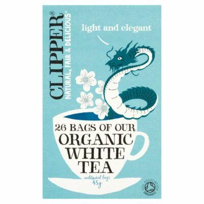 Clipper Organic White Tea Bags (fehér tea) 26 filter