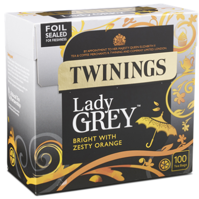Twinings Lady Grey Tea 100 db filter