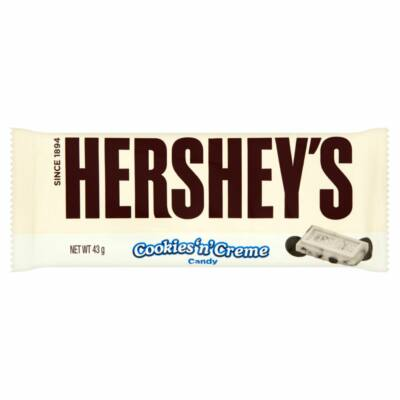 Hersheys Cookies and Creme Bar
