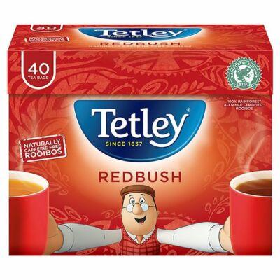 Tetley Redbush (Rooibos) Tea 40 db filter