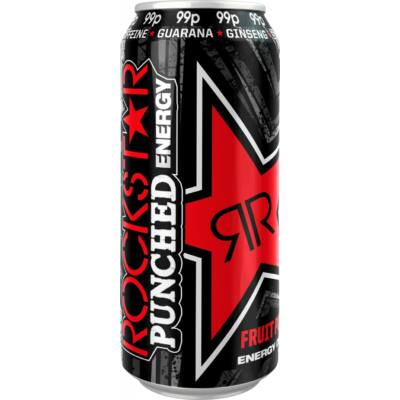 Rockstar Punched Fruit Punch 99p 500ml