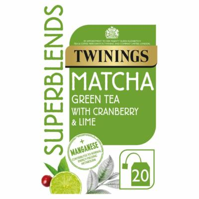 Twinings Super Blends Matcha  Tea 20 db filter