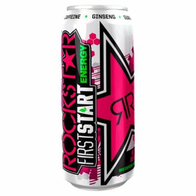 Rockstar First Start Energy Mixed Berries (árcímkés) 500ml