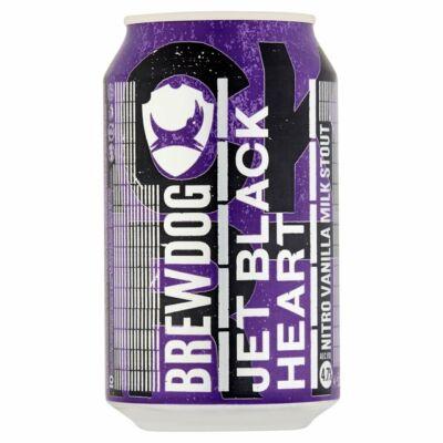 BrewDog Jet Black Heart Nitro (4.7%, 330ml dobozos)