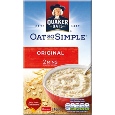 Quaker Oat So Simple Original (8 instant tasak)