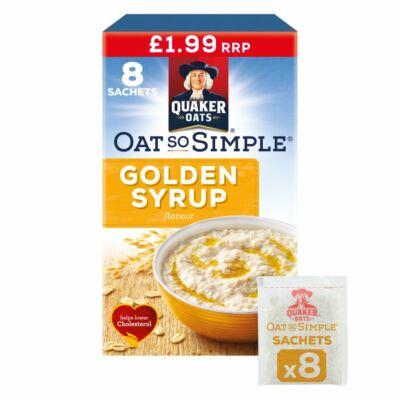 Quaker Oat So Simple Golden Syrup (8 instant tasak)