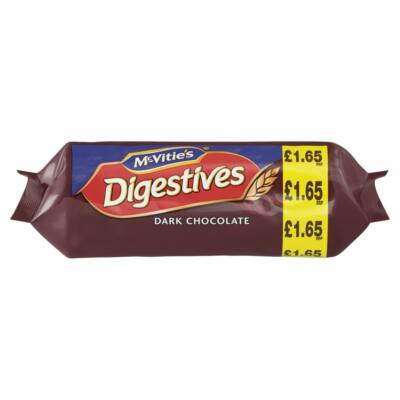 McVities Dark Chocolate Digestives (Étcsokoládés) -  266g
