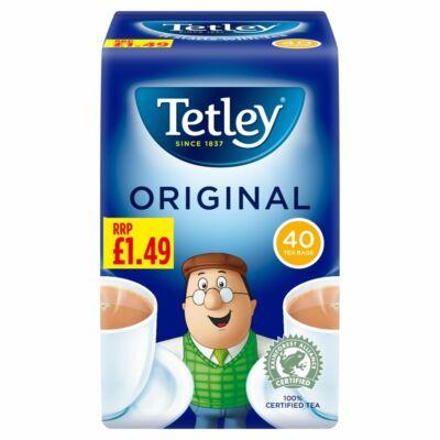 Tetley Tea  40 db filter