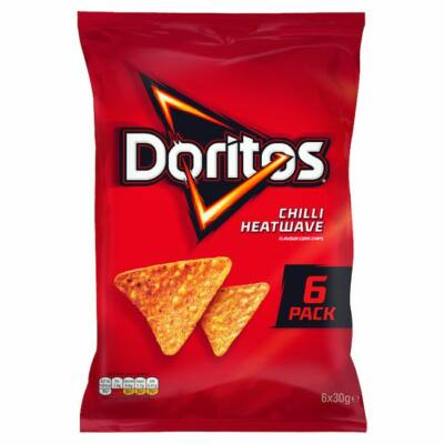 Doritos Chilli Heatwave Multipack 6x30g
