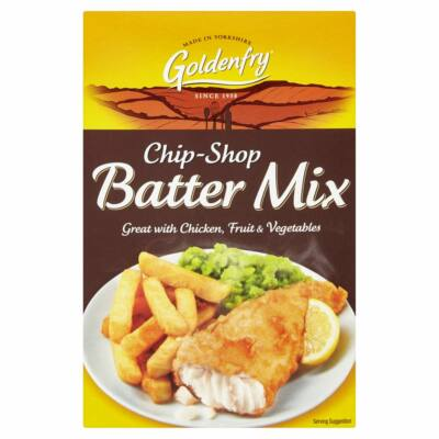 Golden Fry Chip Shop Batter Mix  - Fish & Chips hal panír mix