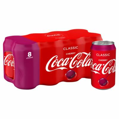 Coca Cola Cherry Multipack (8x330ml)
