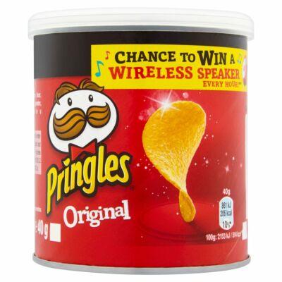 Pringles Original chips - Sós Chips  - árcímkés 40g