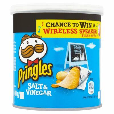 Pringles Salt and Vinegar chips - Sós és Ecetes Chips 40g