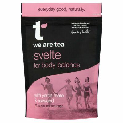 We Are Tea Svelte Tea bags 12 selyemfilter
