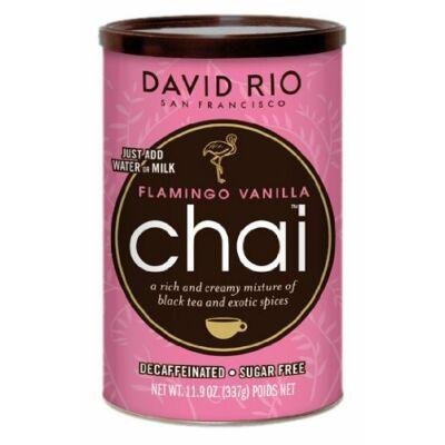 David Rio Sugar Free Decaf Pink Flamingo Vanilla Chai Mix 337g