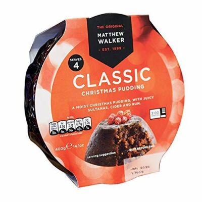 Matthew Walker Classic Christmas Pudding 400g