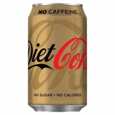Coca Cola Diet Caffeine Free 330ml