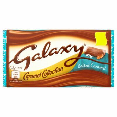 Galaxy Salted Caramel 135g - Sós-karamellás tejcsokoládé