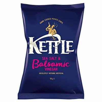 Kettle Sea Salt & Balsamic Vinegar Chips (Sós-balzsamecetes chips) 150g