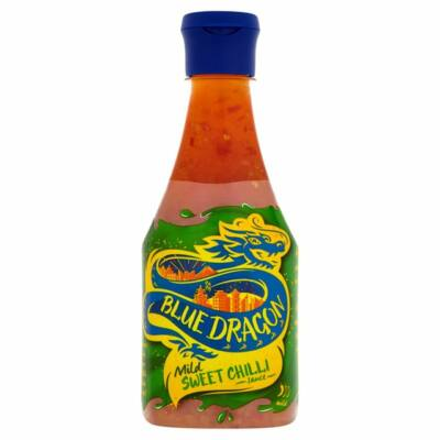 Blue Dragon Mild Sweet Chilli Dipping Sauce Squeezy 380ml