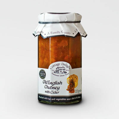 Cottage Delight Old English Chutney with Cider 310g