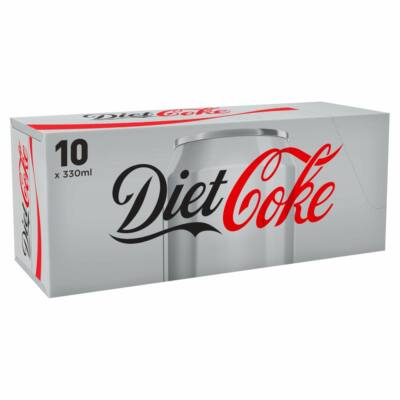 Coca Cola Diet 10x330ml pack