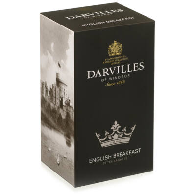 Darvilles of Windsor English Breakfast Tea 50 filter