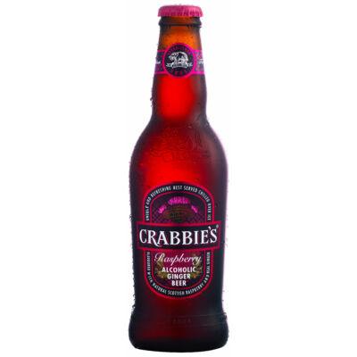Crabbies Raspberry 330ml - alkoholos málnás gyömbérsör