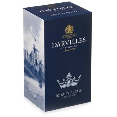Darvilles of Windsor Royalty Assam Tea 50 db filter