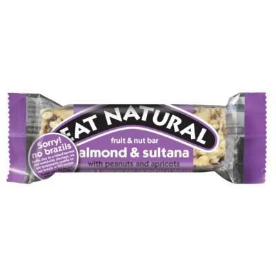 Eat Natural almond & sultana with peanuts and apricot 50g