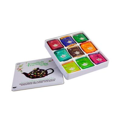 English Tea Shop Bio teaválogatás fémdobozban 72 filter