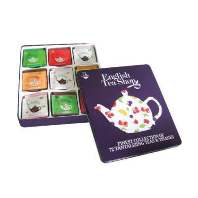 English Tea Shop Super Fruit-szuper gyümölcsteák fémdobozban 72 filter