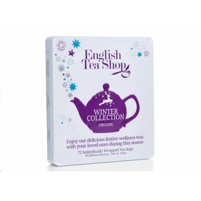 English Tea Shop Fémdobozos Téli Bio Tea válogatás 72 db filter