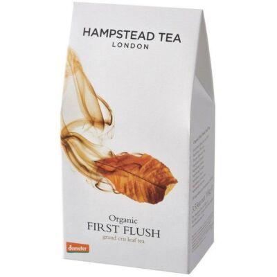 Hampstead First Flush Organic & Fairtrade Leaf Tea - First Flush Darjeeling Szálas Tea 100g