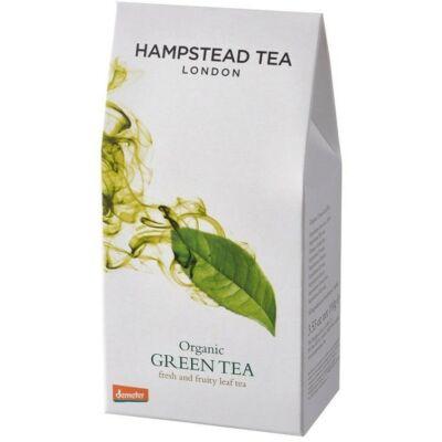 Hampstead Green Loose Leaf Tea Pouch (100g) - Szálas Bio Zöld Tea