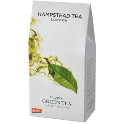 Hampstead Green Loose Leaf Tea Pouch (100g) - Szálas Bio Zöld Tea