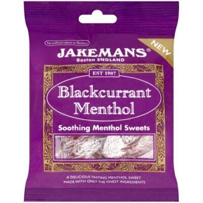 Jakemans Blackcurrant Menthol Lozenges (feleteribizli-mentol cukorka) 100g
