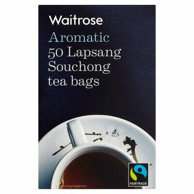 Waitrose Fairtrade Lapsang Souchong Tea 50 db filter