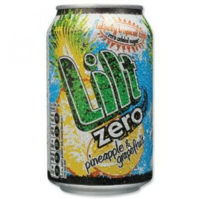 Lilt Zero Pineapple and Grapefruit 330ml