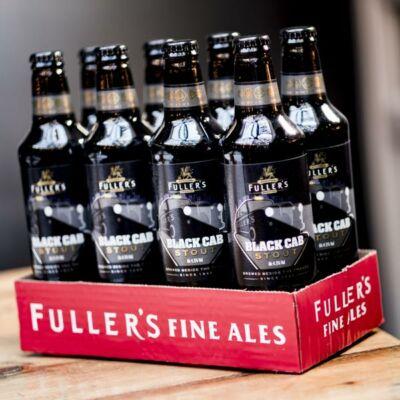 Fullers Black Cab Stout (8x500ml, 4.5%)
