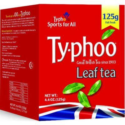 Typhoo Loose Leaf (szálas) tea 125g