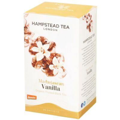 Hampstead Organic Madagascar Vanilla Tea (Bio Fekete Tea Vaníliával) 20 db filter