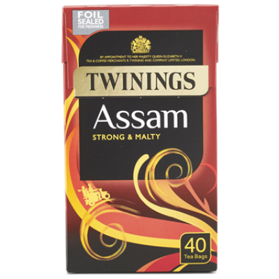 Twinings Assam Tea 40 db filter