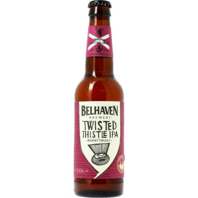 Belhaven Twisted Thistle IPA (330ml, 5.6%)