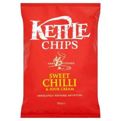 Kettle Chips Sweet Chilli & Sour Cream 150g