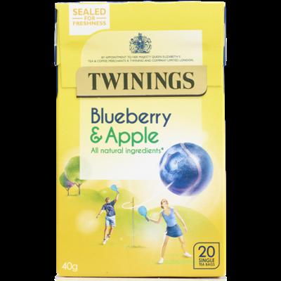 Twinings Blueberry and Apple Tea (Áfonya és Alma Tea) 20 db filter